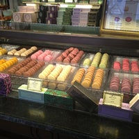 Photo taken at Ladurée by Erin M. on 12/31/2012