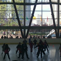 Photo taken at Yerba Buena Ice Skating & Bowling Center by Christopher L. on 4/13/2013