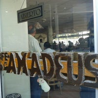 Photo taken at Café Amadeus Los Arcos by Ramón F. on 2/9/2013