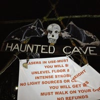 Photo taken at Lewisburg Haunted Cave by Michael L. on 10/27/2012