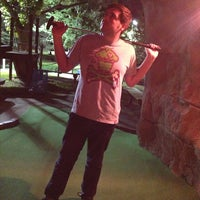 Photo taken at Adventure Golf by Michael L. on 7/27/2013