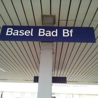 Photo taken at Basel Baden Railway Station by 형욱 (Ryan) 박. on 2/20/2013