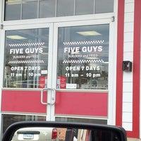 Photo taken at Five Guys by Matthew C. on 2/20/2013