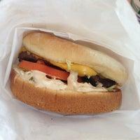 Photo taken at Molokai Burger by Shinji K. on 3/9/2013