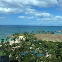 Photo taken at Marriott's Ko Olina Beach Club by Shinji K. on 2/25/2013
