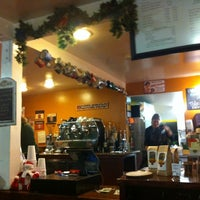 Photo taken at Hidden House Coffee by Allison M. on 12/24/2012