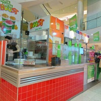 Photo taken at Boost Juice by 邓 T. on 7/28/2014
