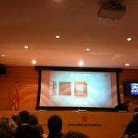 Photo taken at Escola Administració Pública Catalunya by XAVIER B. on 1/31/2013