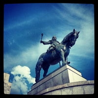 Photo taken at National Memorial on the Vítkov Hill by Daniel D. on 7/18/2013