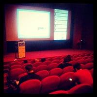 Photo taken at Kino Atlas by Daniel D. on 4/9/2013