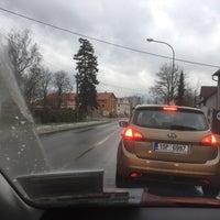 Photo taken at Železniční přejezd Jaroměř by sambar439 on 12/14/2017
