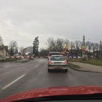 Photo taken at Železniční přejezd Jaroměř by sambar439 on 12/8/2017