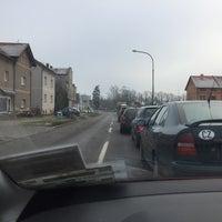 Photo taken at Železniční přejezd Jaroměř by sambar439 on 12/18/2017