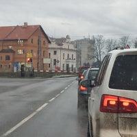 Photo taken at Železniční přejezd Jaroměř by sambar439 on 1/2/2018