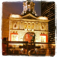 Photo taken at Victoria Palace Theatre by Soohan H. on 2/26/2013