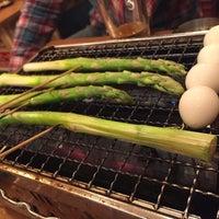 Photo taken at 浜印水産 日ノ出町店 海鮮B.B.Q by Yasu N. on 3/11/2015