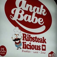 Photo taken at Anak Babe Bistro by Ival N. on 3/14/2013