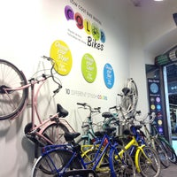 Photo taken at Color Bikes by Maria K. on 5/9/2013