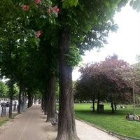 Photo taken at Jardin du Ranelagh by Ouchan S. on 5/18/2013