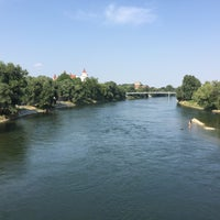 Photo taken at Donau by Maxim S. on 8/9/2015