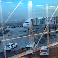 Photo taken at Dubai International Airport (DXB) by Roger P. on 11/12/2013