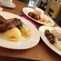 Photo taken at Conti's Bakeshop & Restaurant by Trissie C. on 4/5/2013