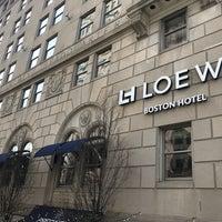 Photo taken at Loews Boston Hotel by Kevin V. on 11/3/2017