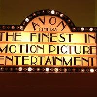 Photo taken at Avon Cinema by Kevin V. on 1/1/2013