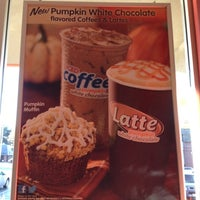 Photo taken at Dunkin Donuts by Kevin V. on 10/23/2012