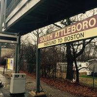 Photo taken at MBTA Commuter Rail South Attleboro by Kevin V. on 2/4/2016