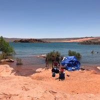 Photo taken at Sand Hollow State Park by Kevin V. on 7/3/2017