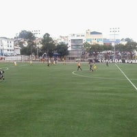 Photo taken at Centro Esportivo do Jardim Lavínia by Gustavo T. on 6/15/2014