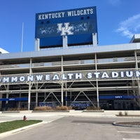 Photo taken at Commonwealth Stadium by Gustavo T. on 3/12/2017