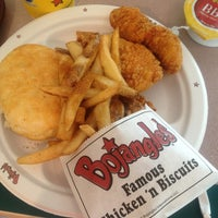 Photo taken at Bojangles' Famous Chicken 'n Biscuits by Adam L. on 7/29/2013