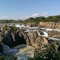 Photo taken at Great Falls Park by Monisha G. on 6/1/2013