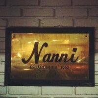 Photo taken at Nanni's Restaurant by Alvin Y. on 10/7/2012