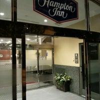 Photo taken at Hampton Inn Philadelphia Center City-Convention Center by Adrien D. on 6/13/2013