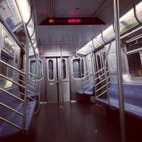 Photo taken at MTA Subway - F Train by christian svanes k. on 5/26/2013