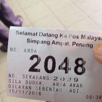 Photo taken at Pejabat Pos (Post Office) by Atiqah on 11/15/2016