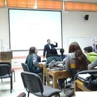 Photo taken at Facultad de Ciencias Empresariales by Guillermo Augusto J. on 9/26/2012