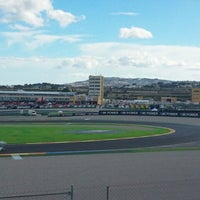 Photo taken at Circuit de la Comunitat Valenciana Ricardo Tormo by Stela S. on 11/10/2012