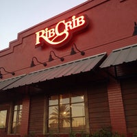 Photo taken at RibCrib BBQ & Grill by Eilene N. on 10/16/2014