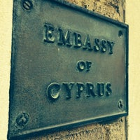 Photo taken at Embassy Of The Republic of Cyprus by Ryan E. on 5/10/2014