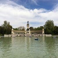 Foto tomada en Parque del Retiro por Alex F. el 5/5/2013