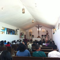 Photo taken at Iglesia Santa Barbara by Daniel V. on 2/10/2013