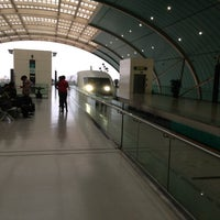 Photo taken at Maglev Train Longyang Road Station by K.Bird on 2/28/2013