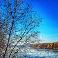 Photo taken at George N. Wade Memorial Bridge by Brian O. on 11/19/2014