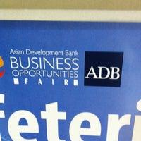 Photo taken at Asian Development Bank (ADB) by Rich R. on 3/21/2013
