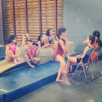 Photo taken at Gavrila Gymnastics Club by Ashfi Q. on 12/1/2013