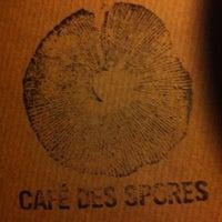 Photo prise au Café des Spores par Vinz le10/31/2012